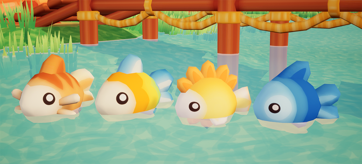 First look at fish in the game