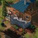 Len's Island - house and plants