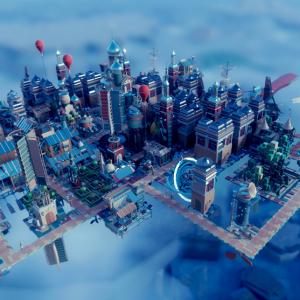 Large airborne kingdom