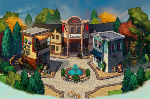 Beacon Pines - one of the games featured in the Steam Game Festival