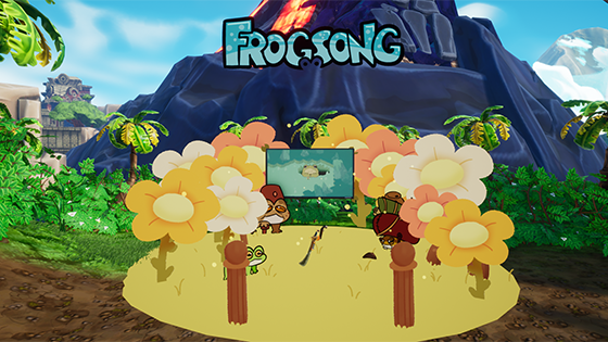 Frogsong booth