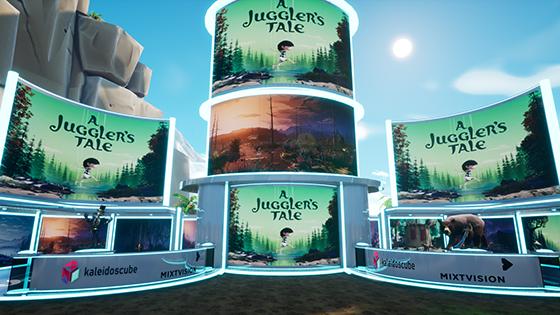 Jugglers Tale booth
