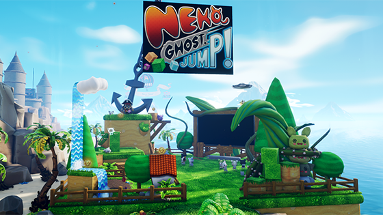 Neko Ghost Jump booth