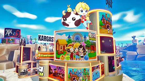 Ova Magica booth