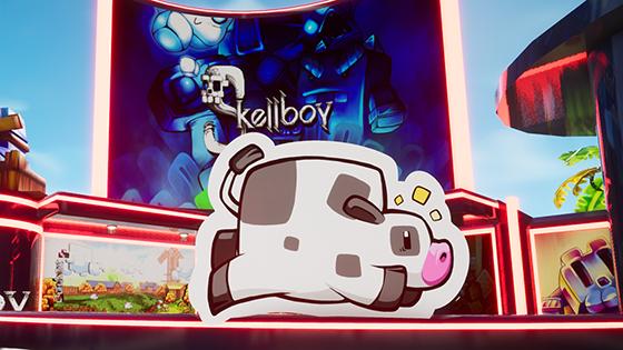 Skellboy booth