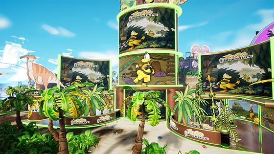 Zniw Adventure booth