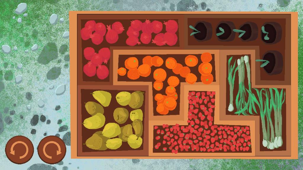 A tetris style minigame in Teacup
